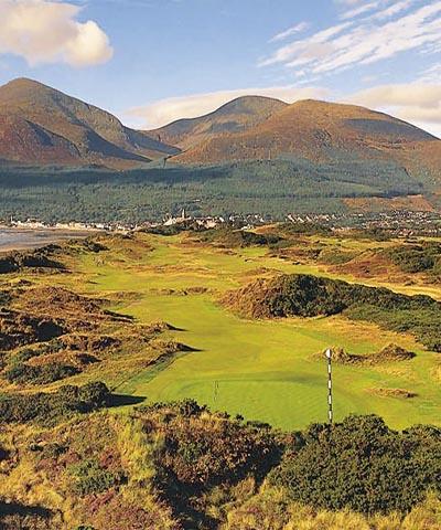 Royal County Down GC portrait