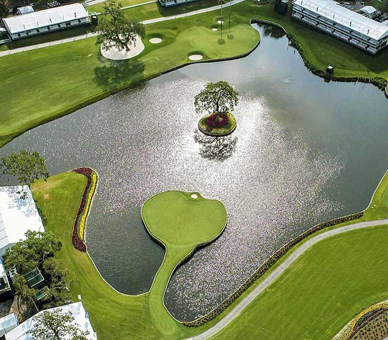 TPC Sawgrass aerial 17th 800, 700 for web