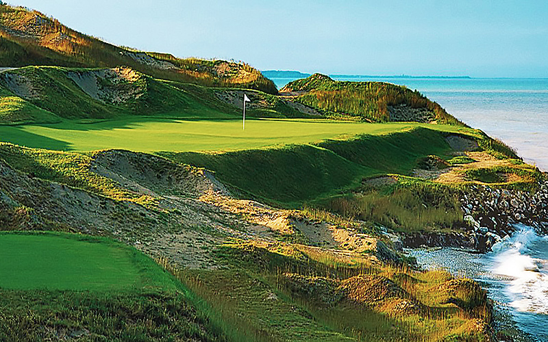 Whistling Straits, Straits Course