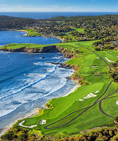 Pebble Beach<br 3 Nights / 3 Rounds<br>From $2,790 USD pp
