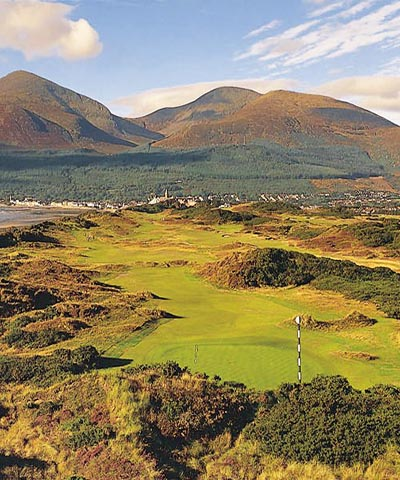 Royal County Down GC portrait