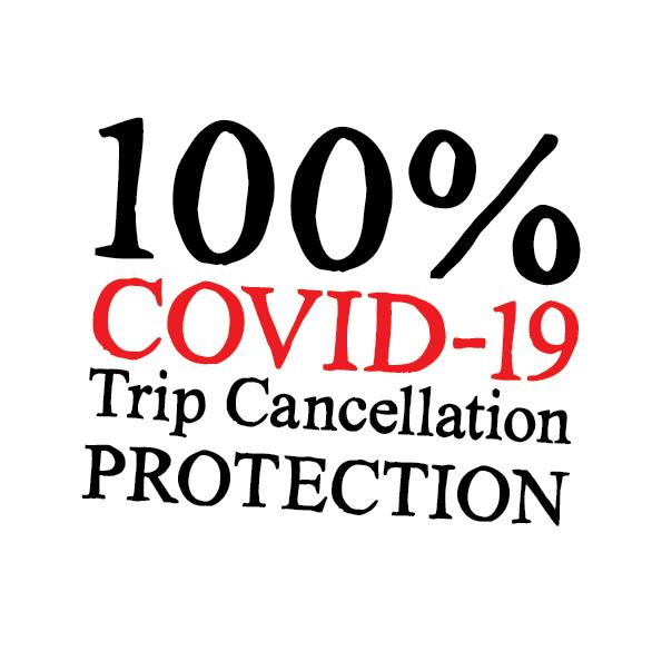 100% COVID cancellation copy