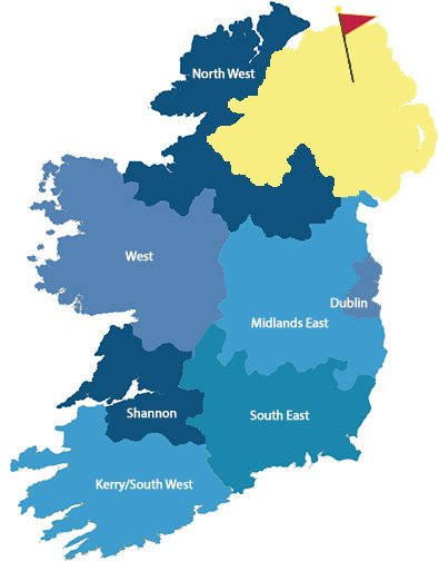 ireland regions Northern Ireland 3