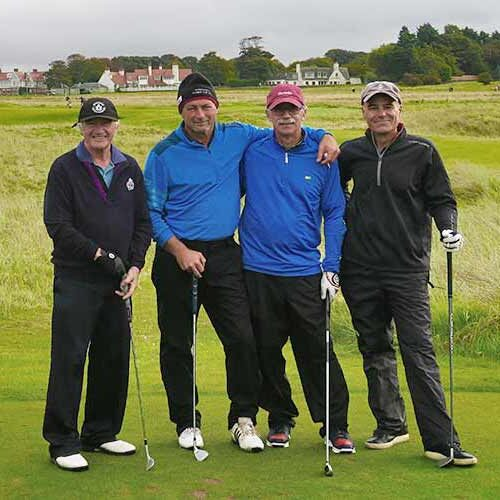 Muirfield scotland foursome for web