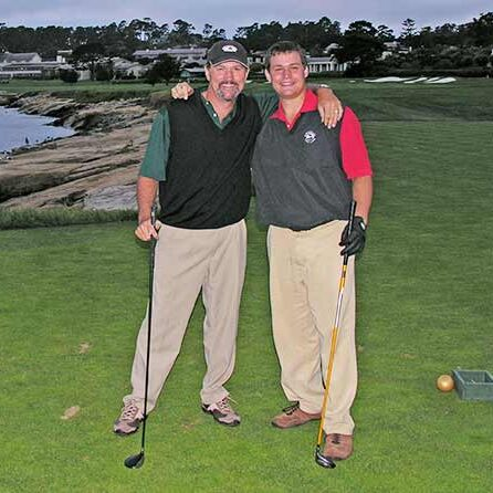 Pebble Beach father son for web